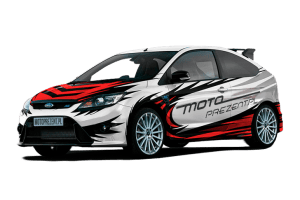 Jazda po torze Ford Focus RS